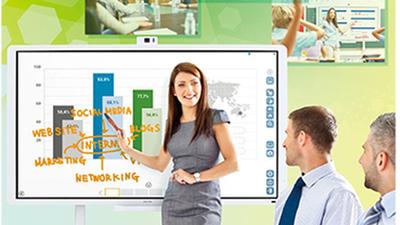 Découvrez la Nouvelle gamme des tableaux interactifs RICOH, et partagez vos idées